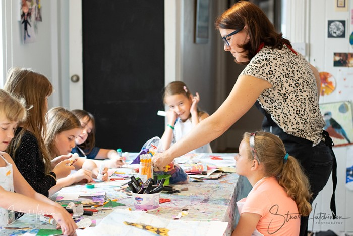Kids parties at the Art House